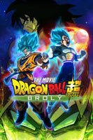 Dragon Ball Z : Super Broly HD Funimation Code