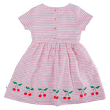 Cherry Print Skater Dress - Lollidays Baby & Kids Clothing