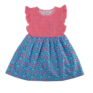 Cherry Print Dress - Lollidays Baby & Kids Clothing
