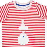 Christmas Santa Baby Pink T-Shirt - Lollidays Baby & Kids Clothing