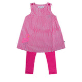 Flamingo Applique Tunic Set - Lollidays Baby & Kids Clothing