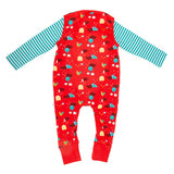 Farmyard Print Dungaree Set - Lollidays Baby & Kids Clothing