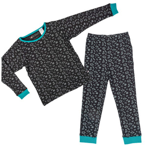 Space Print PJ Set - Lollidays Baby & Kids Clothing