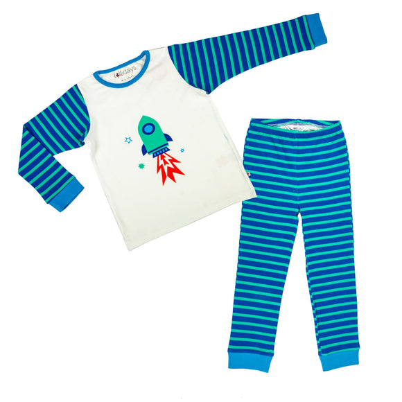 Rocket PJ Set - Lollidays Baby & Kids Clothing