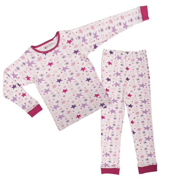 All Stars Pink PJ Set - Lollidays Baby & Kids Clothing