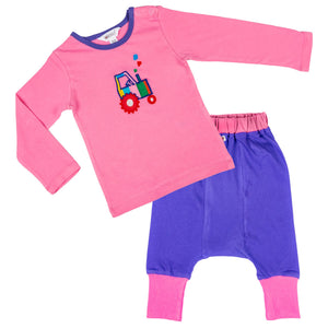 2 Piece Tractor Set - Lollidays Baby & Kids Clothing