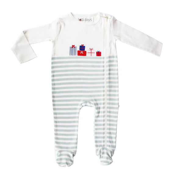 Christmas Gifts Sleepsuit - Lollidays Baby & Kids Clothing