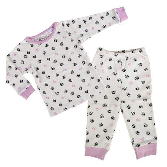 Panda Print PJ Set - Lollidays Baby & Kids Clothing
