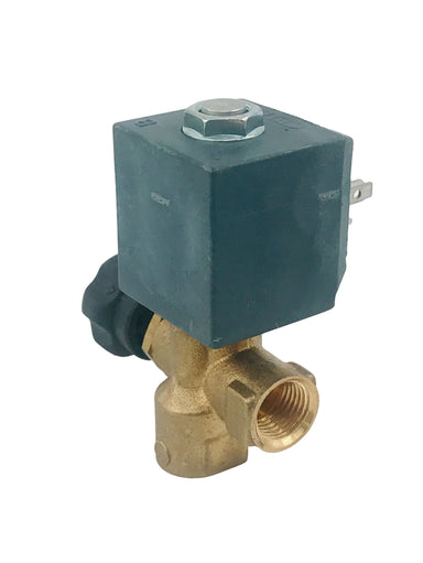"Solenoid - CEME 2-Way Valve,  ø 1/4"" 230V 50/60Hz, Adjustable Flow Regulator"