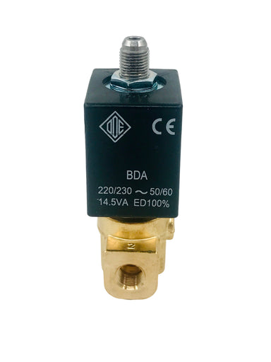 "Solenoid - ODE 3-Way, ø 1/8"" 230V 8W 50/60 Hz"