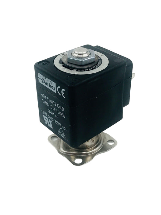 Slayer - Solenoid Valve, 2-Way, Flange Mount 2.5mm, 24V Solenoid, V3 Needle Valve, Old Style