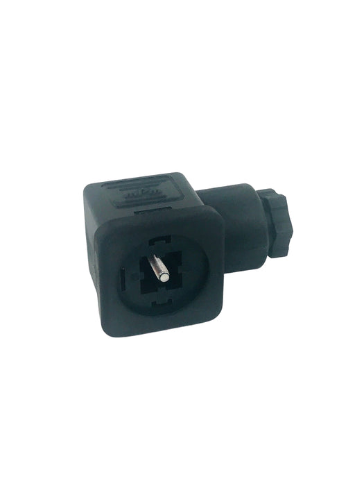 Solenoid Connector - Large F-Fitting Connector