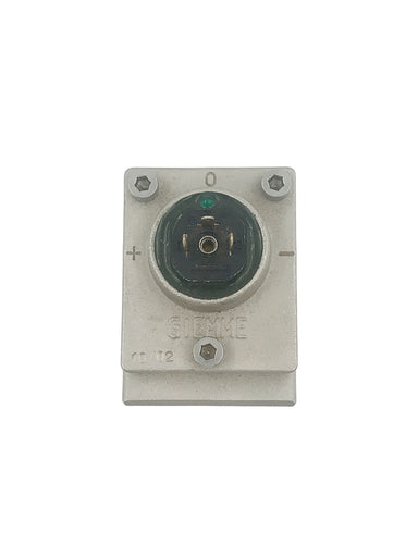 Flow meter - GIEMME Cold Water with LED, Complete - Square Version