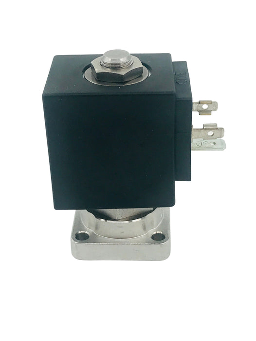 KVDW - Spirit, 2-way flange valve, orifice 2.5mm; s.st.; coil 230V (ODE)