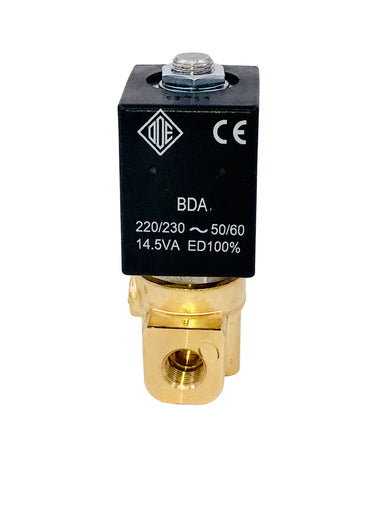 "Solenoid - ODE 2-way Valve, 1/8"" 240V 50/60Hz"