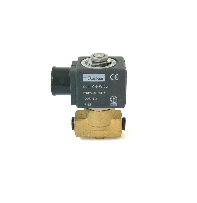 "Solenoid - 2-Way Parker Slayer 1/8"" 230V (V2 Slayer Hot water/PB Linea Hot Water)"