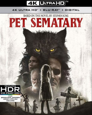 Pet Sematary (2019) itunes 4K UHD ONLY