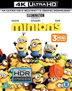 Minions itunes 4K UHD (Ports to VUDU via MA in 4K UHD)