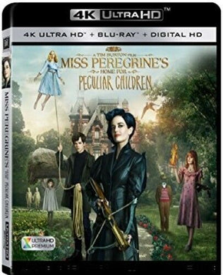 Miss Peregrines's Home...4K UHD itunes (Ports to MA/VUDU in 4K UHD Must Read Description)