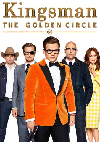 Kingsman: The Golden Circle HDX or itunes HD via MA