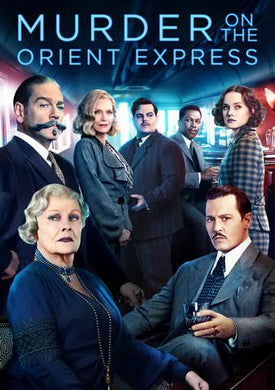 Murder on the Orient Exrpess (2017) HD VUDU/MA or itunes HD via MA