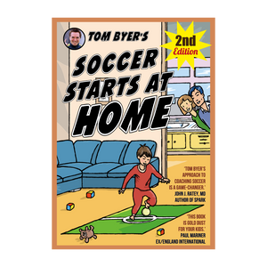 Soccer Starts at Home® (2nd Edition)- Buy Single Copies or Cases of 48 Copies