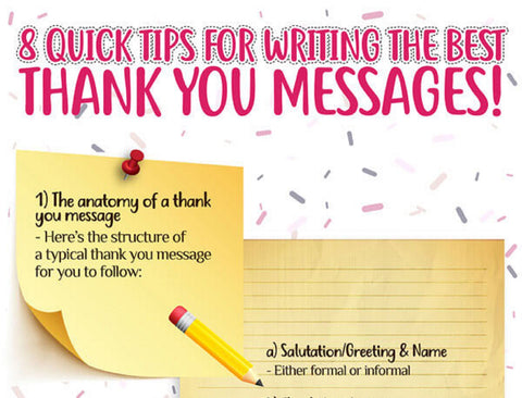 8 quick tips for writing the best thank you message this Christmas