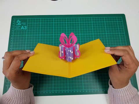 How to make pop up birthday cards step by step