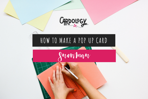 Make A Snowman Pop Up Card