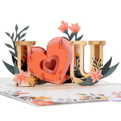 Pop Up Valentine's Day Cards UK