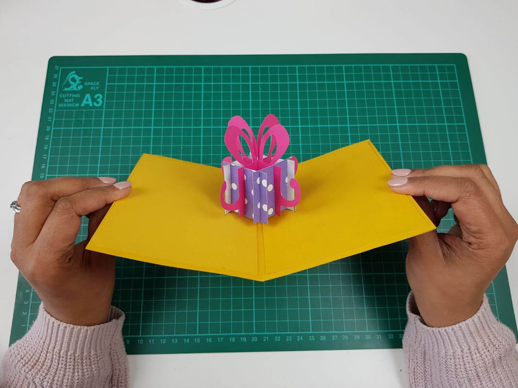 Cool How To Make A Birthday Pop Up Card Tutorial Sliceform Cardology Funny Birthday Cards Online Inifofree Goldxyz
