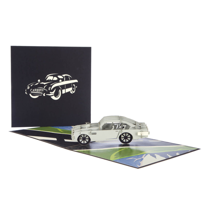 Aston Martin Pop Up Card