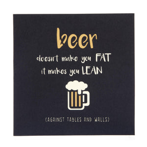 beer stein pop up card cover which reads