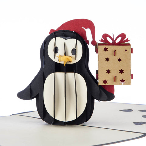 Penguin Pop Up Card
