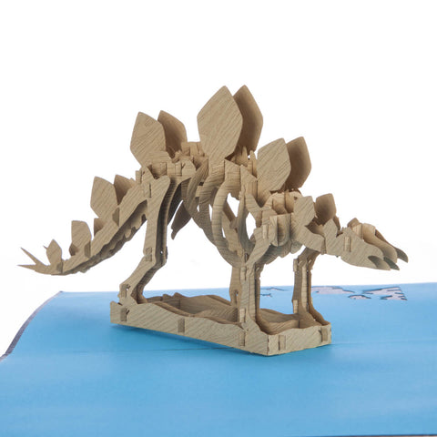 Stegosaurus Pop Up Card