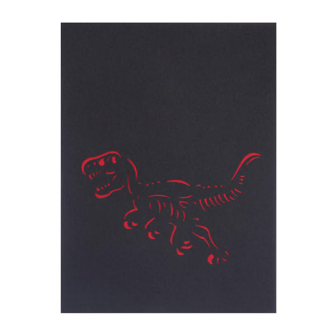 T-Rex Pop Up Card