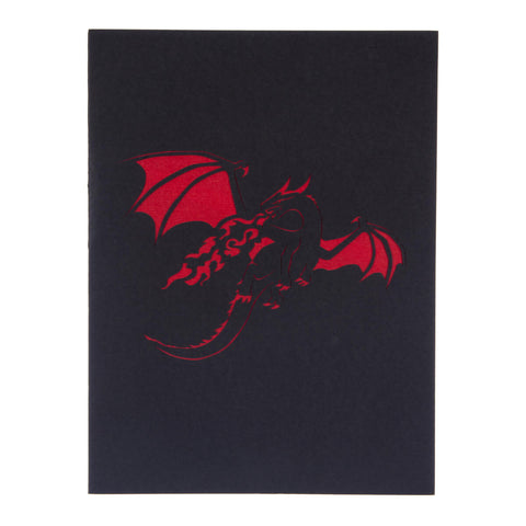 Red Dragon Pop Up Card