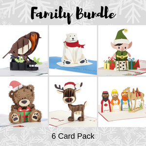 Family Christmas Bundle - Pack of 6