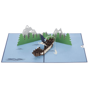 Fishing Pop Up Card