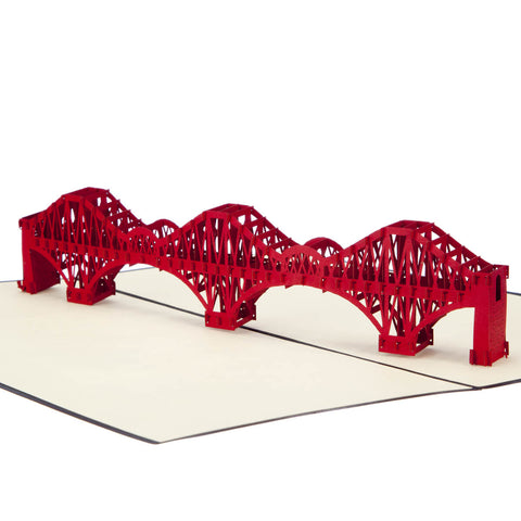 Forth Rail Bridge Pop Up Card
