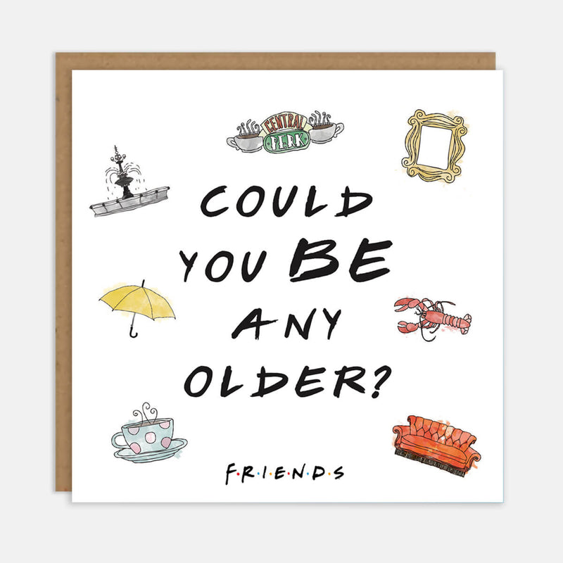 Friends TV Show Birthday Card - Chandler Bing Funny Card