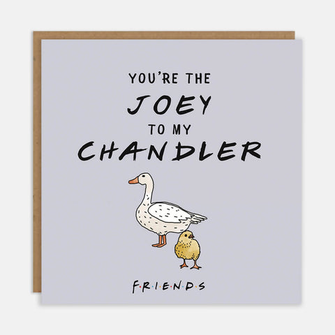 You're The Joey To My Chandler