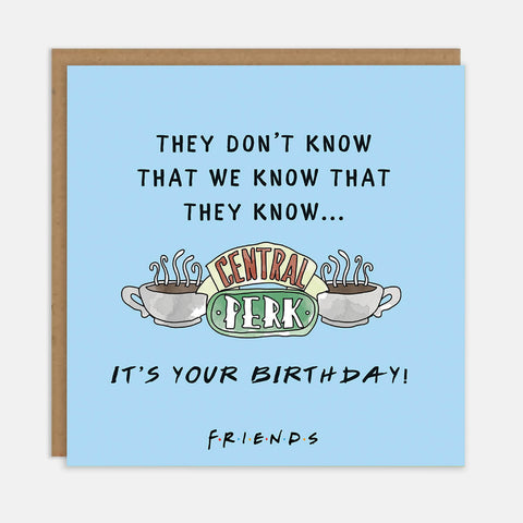They Don't Know - It's Your Birthday!