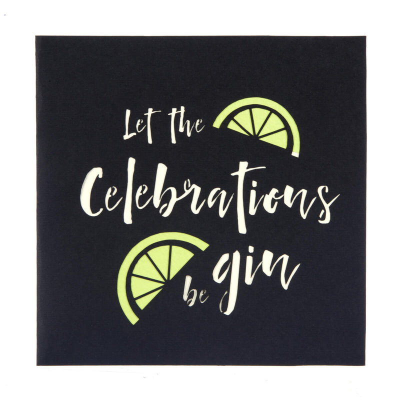 Gin Pop Up Card cover image which reads