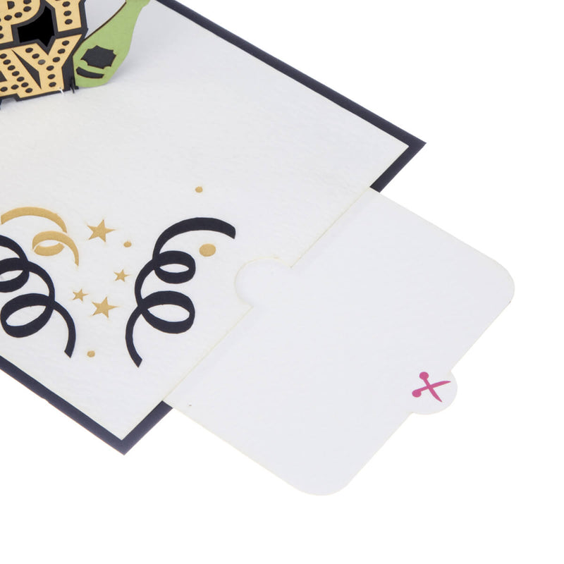 image of Happy Birthday Pop Up Card note card