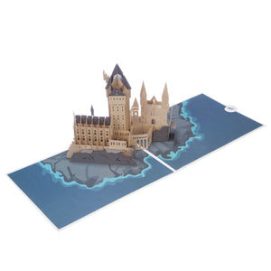 Harry Potter Birthday Card of Hogwarts Castle