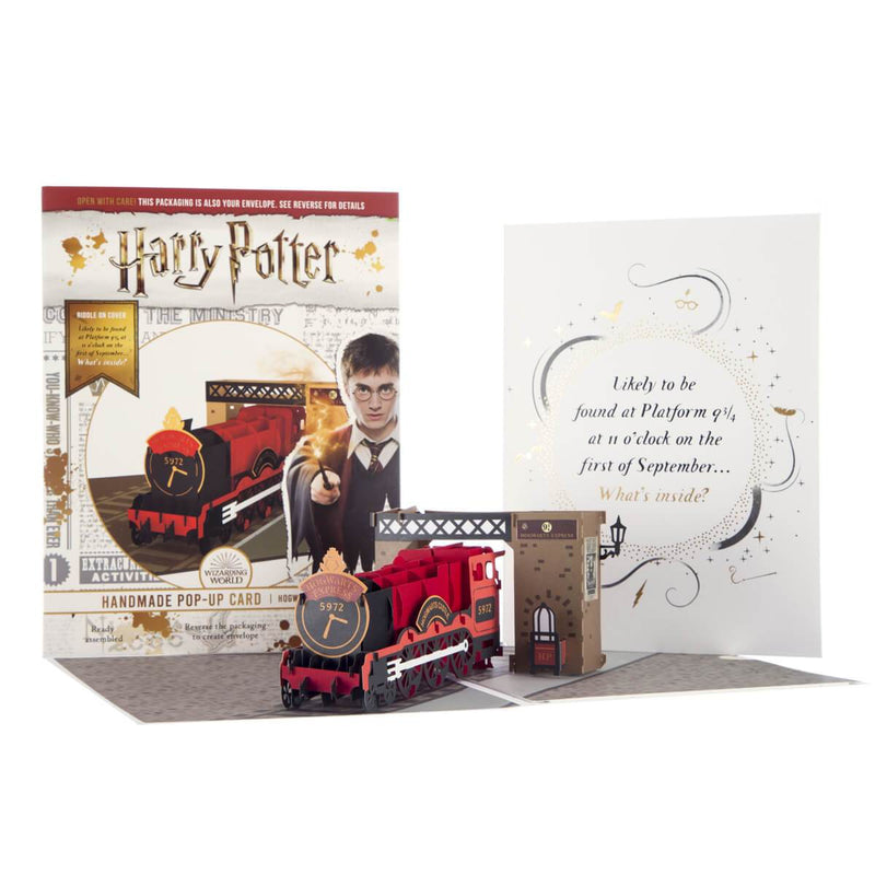 Harry Potter Hogwarts Express Pop Up Card with Cover