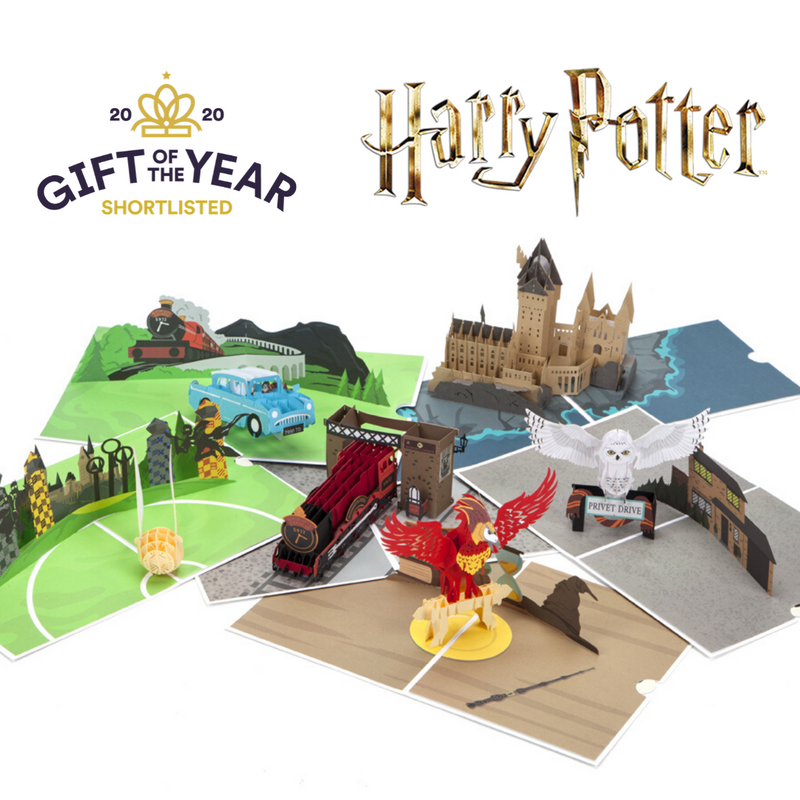 6 Card Collection Pack - Harry Potter Pop Up Cards