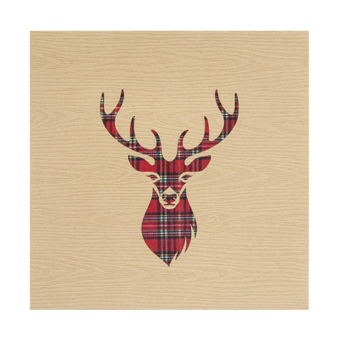 Highland Stag Pop Up Card