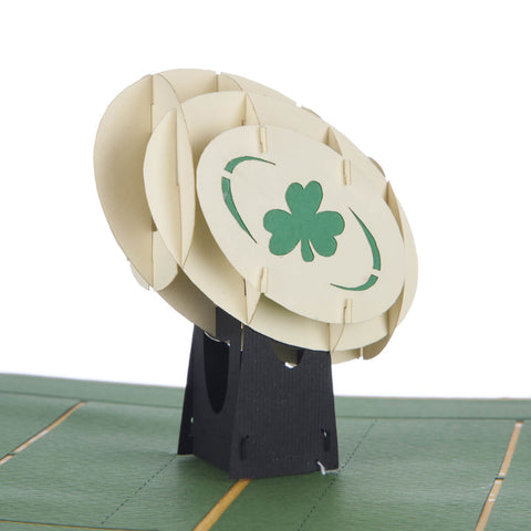 Irish Rugby Pop Up Card